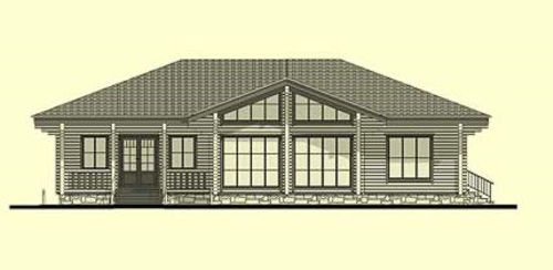 Casas de madera burgos de 158 m2 40 m2 de terraza - Casas prefabricadas burgos ...