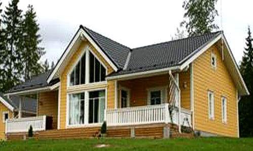 Casas de madera de 160 m2 + terraza