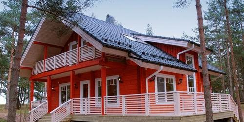 Casas de madera santapola de 150 m2 - Casas de madera nordicas ...