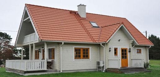 casas de madera de 129 m2
